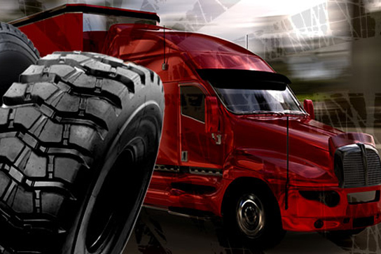 Tire and Bus